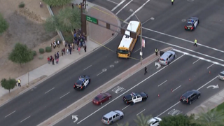 FD: 12-year-old boy dies after being struck by a school bus in Arizona