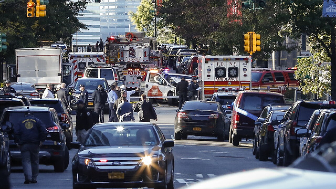 "7 dead after ""possible terror attack"" in NYC"
