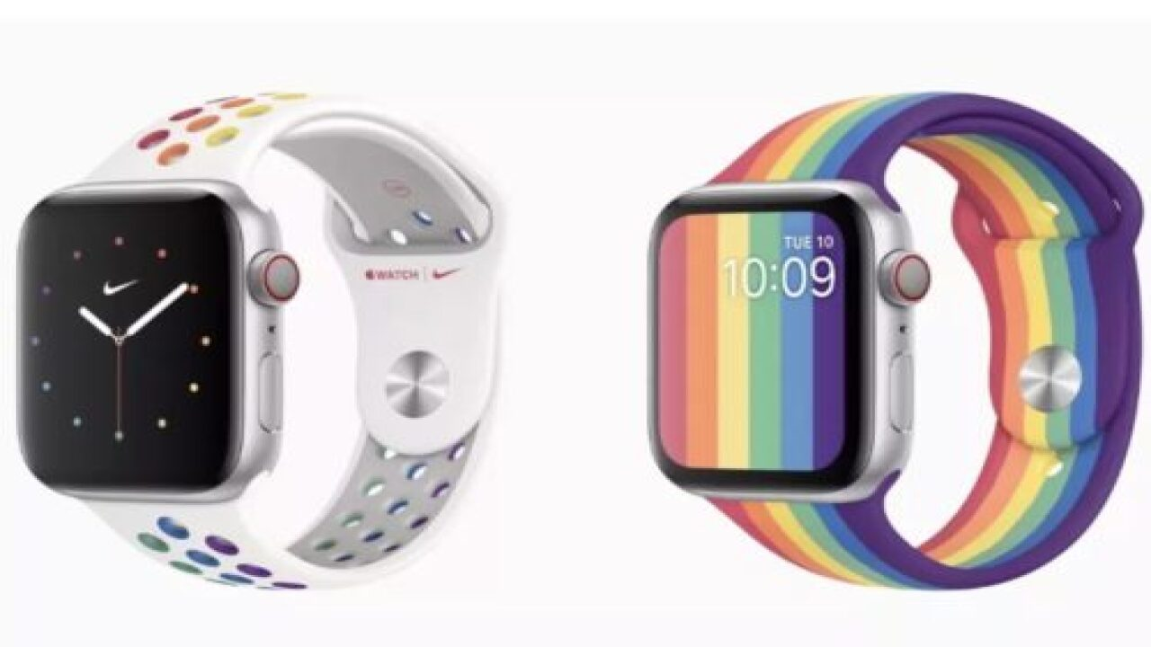 Apple Just Launched New Pride-themed Watch Bands