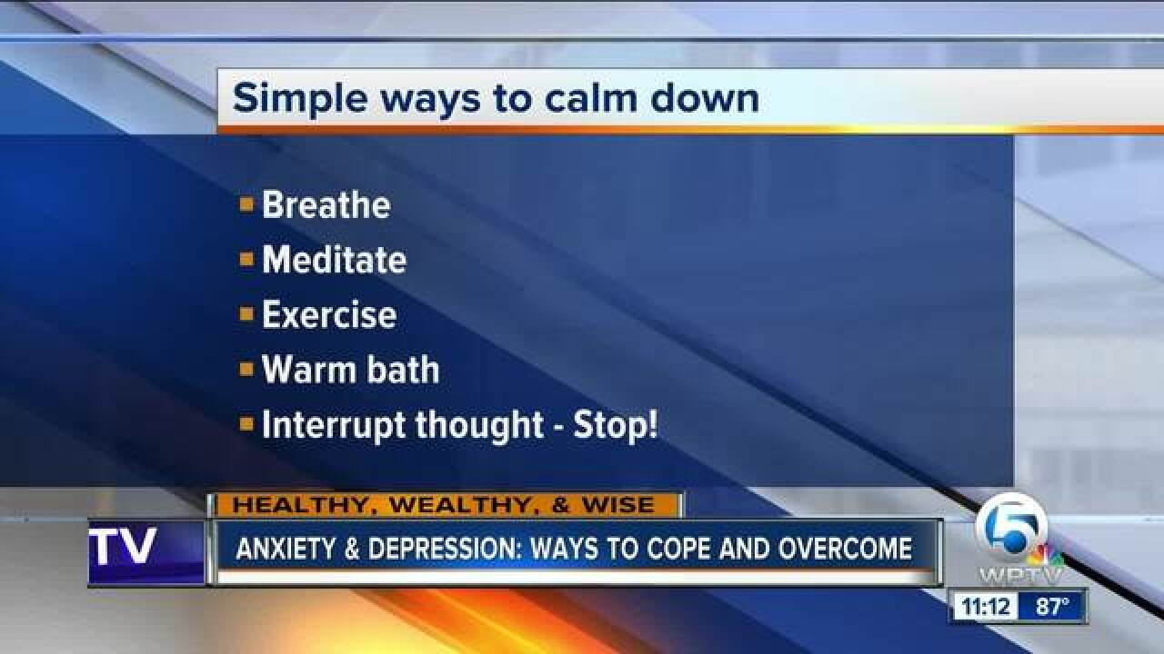 Anxiety and Depression: Ways to cope and overcome