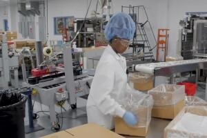 Medline Industries transforms Hartland facility to help produce more hand sanitizer