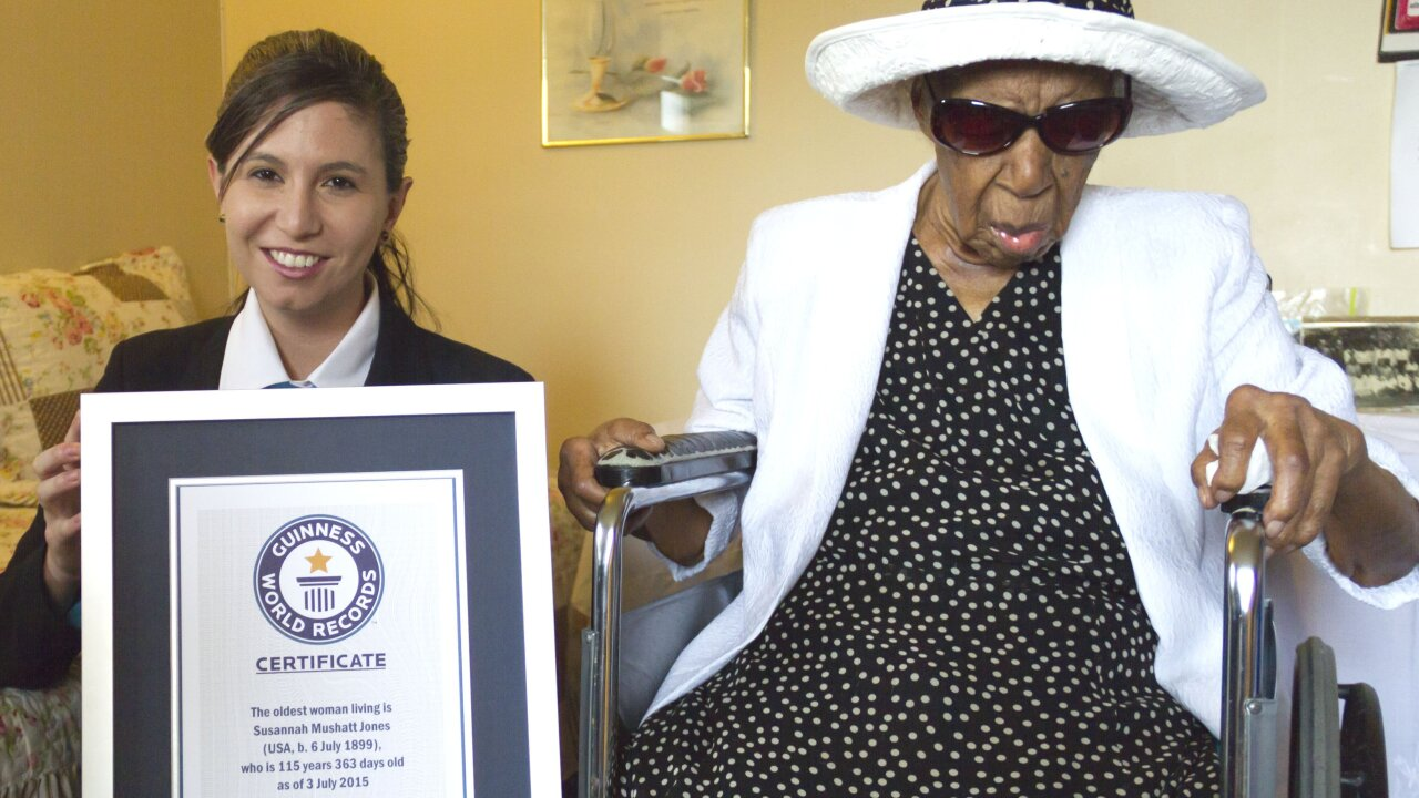 World's oldest woman dies at age 116