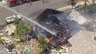 One dead and 15 injured in house explosion in California
