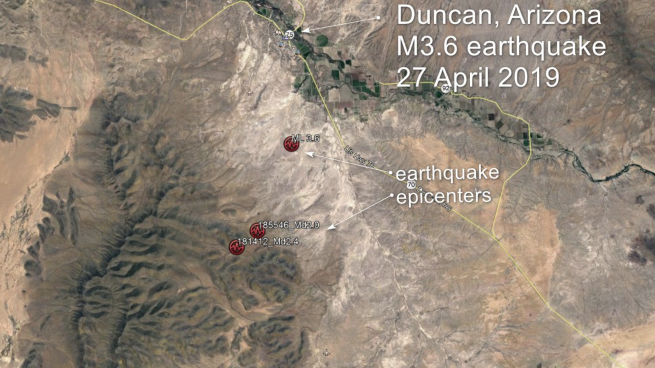 3.6 Earthquake