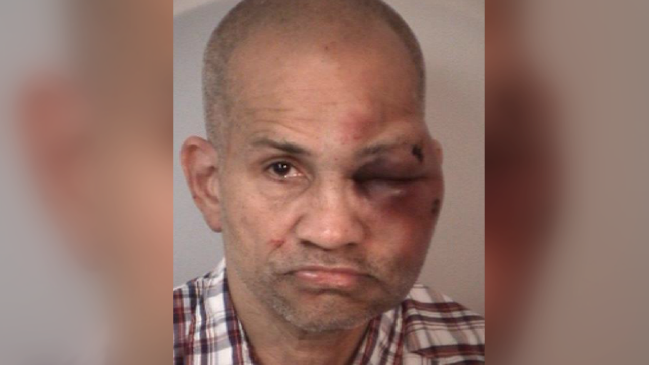 Man beaten by family member after being found naked in room with toddlers
