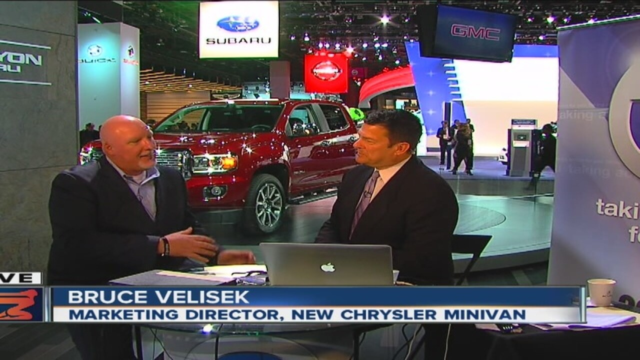 Is that a minivan? Yes, says Chrysler