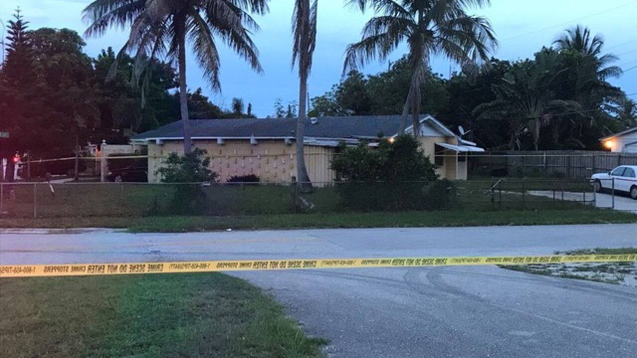 PBSO identifies suspect in deputy-involved shooting