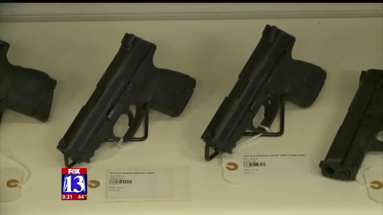 Proposed bill would lower minimum age for concealed carry permit inUtah