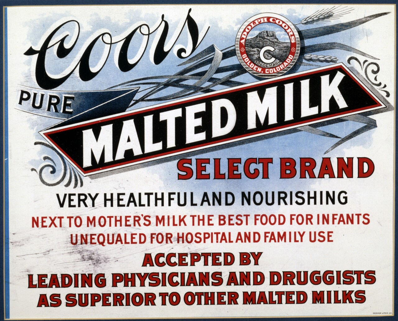 Coors malted milk ad