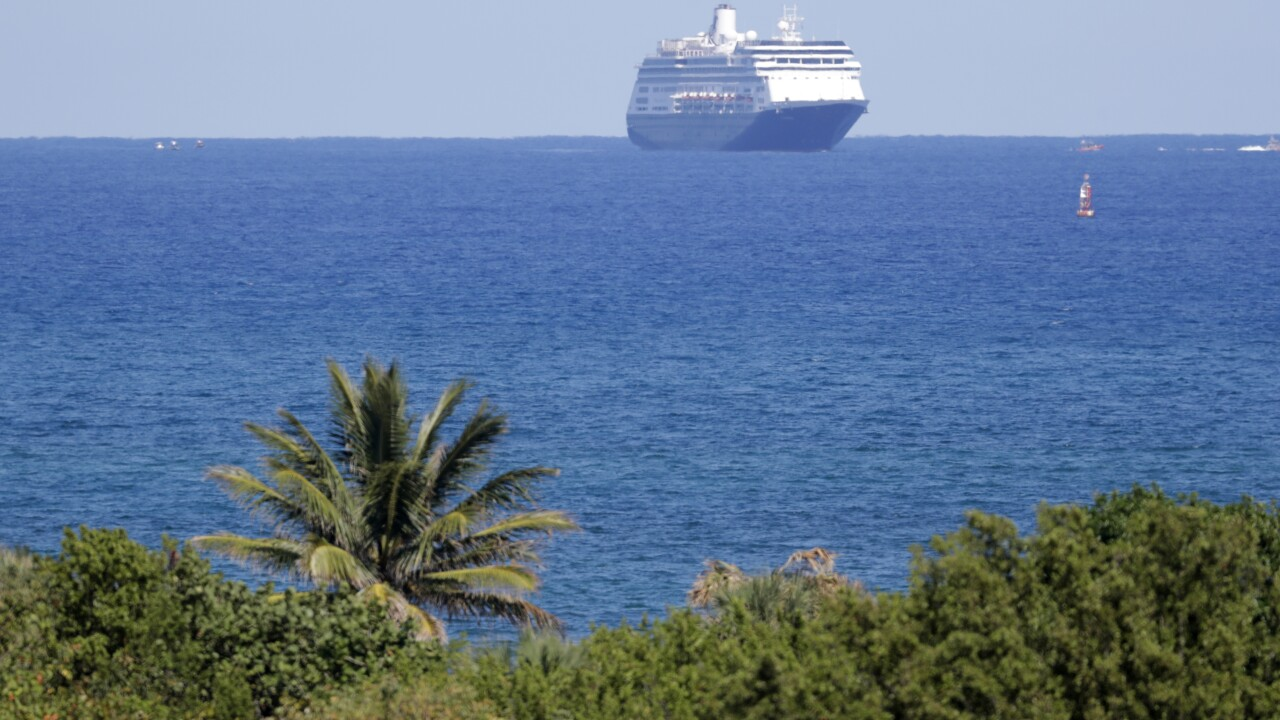 Ill-fated cruise ships given approval to dock in Florida