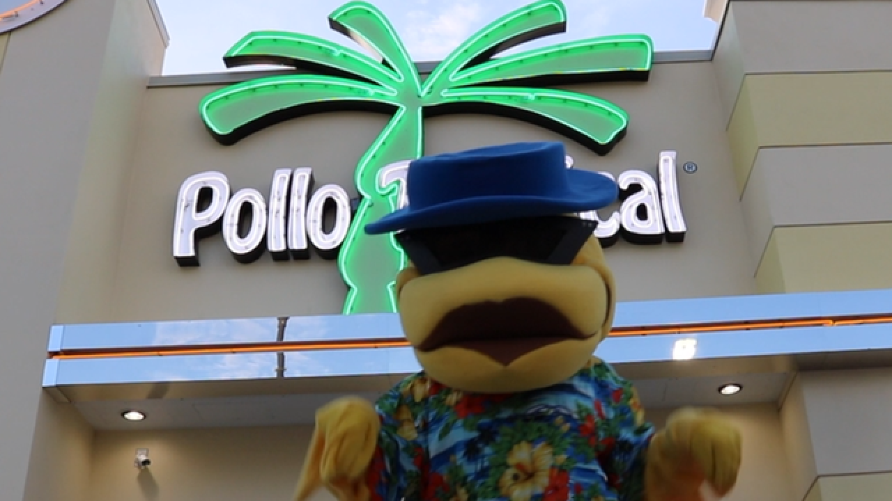 Dance like a chicken at Pollo Tropical on Monday and get a free 3-piece Pollo Bite