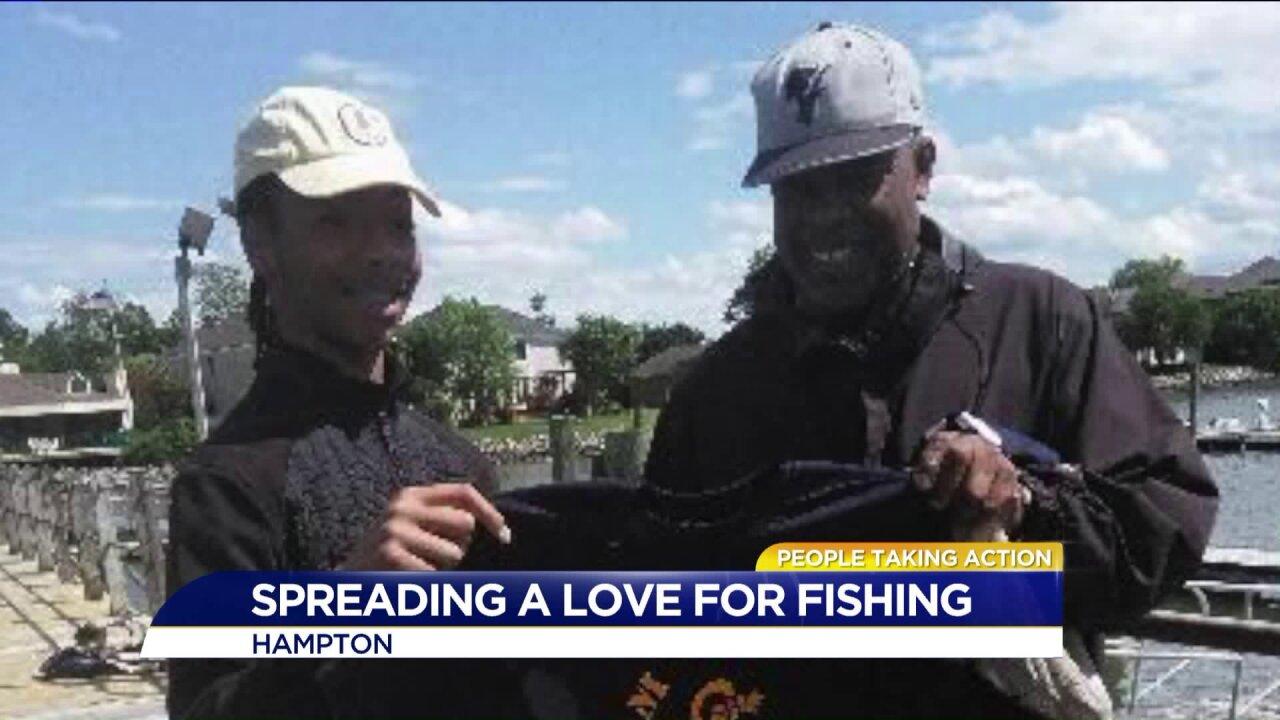 Hampton fisherman starts program to keep kids off thestreet