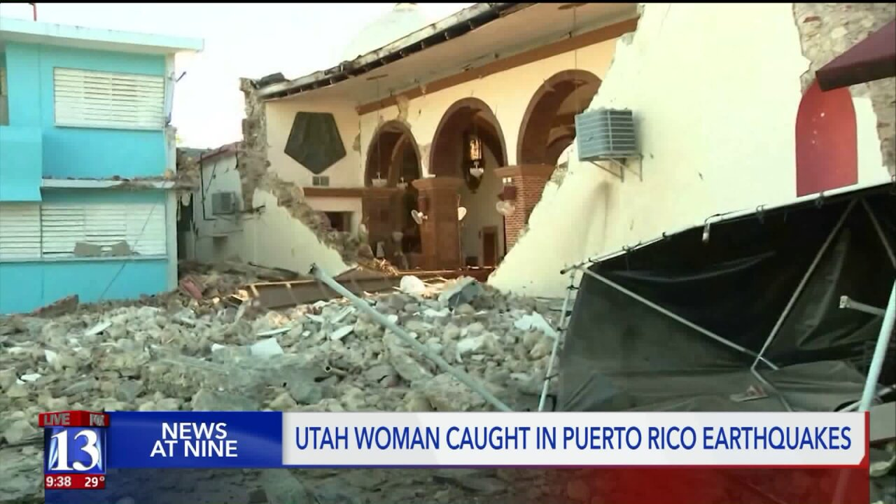 Utahn returns from Puerto Rico after earthquakes
