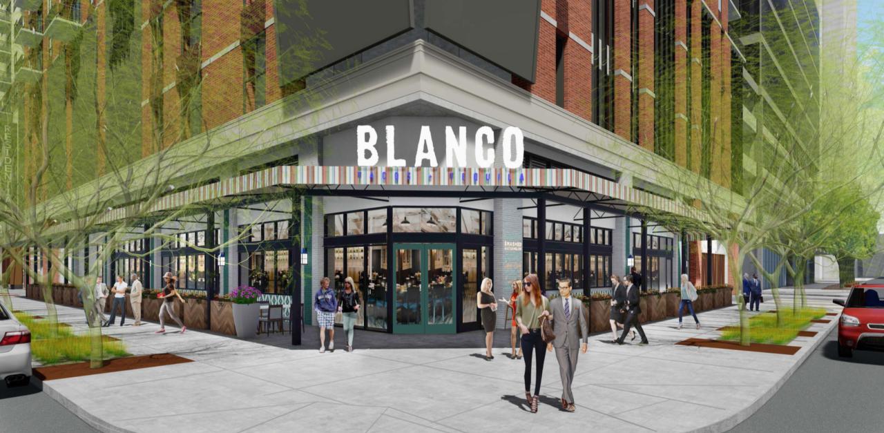 Blanco downtown Phoenix artist rendering