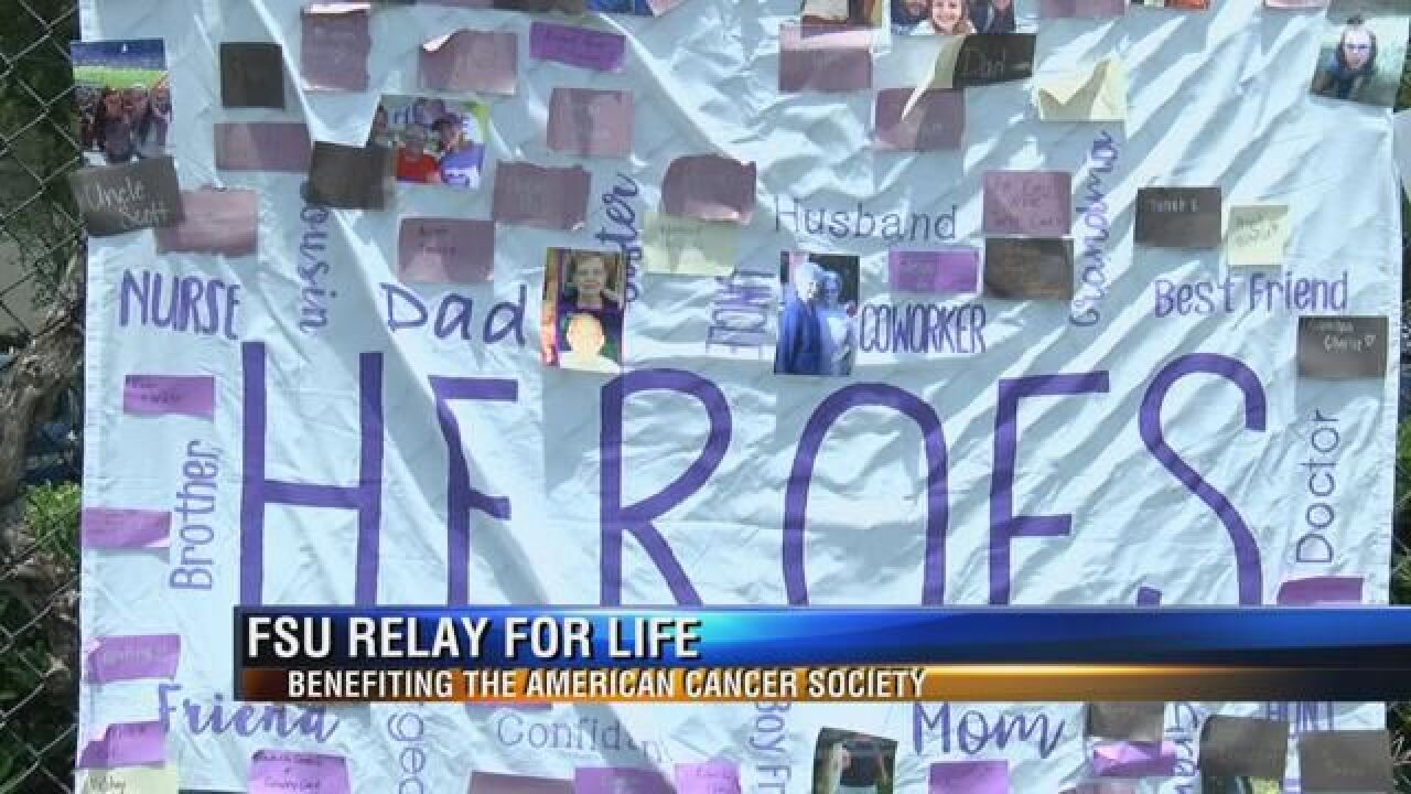 Relay for Life Starts Tonight at Florida State University