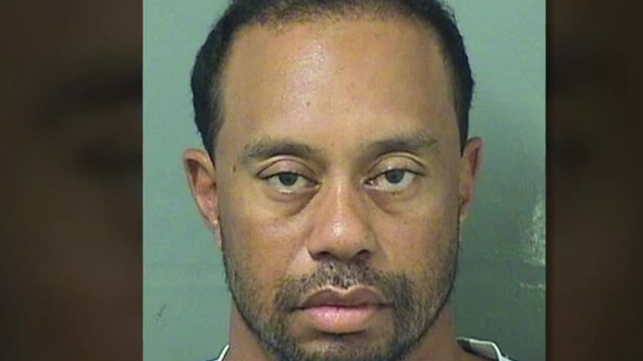 Golfer Tiger Woods says prescription medication led to DUI arrest in Jupiter