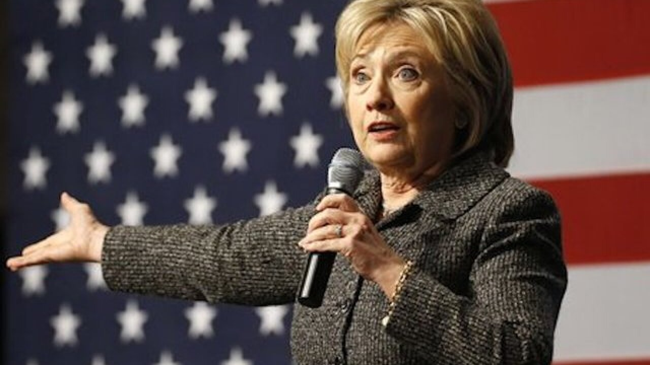 Clinton gets nod from Eric Holder