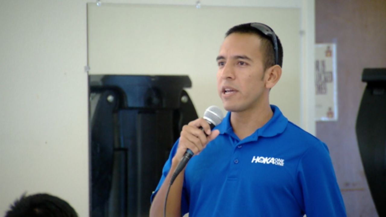 Olympic medalist speaks at McFarland HS