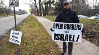US Synagogue Protests