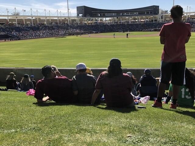 Milwaukee Brewers fan fun at spring training 2018 [PHOTOS]