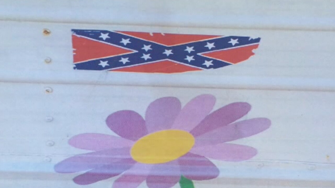 Confederate flag sticker found on Ohio daycare bus