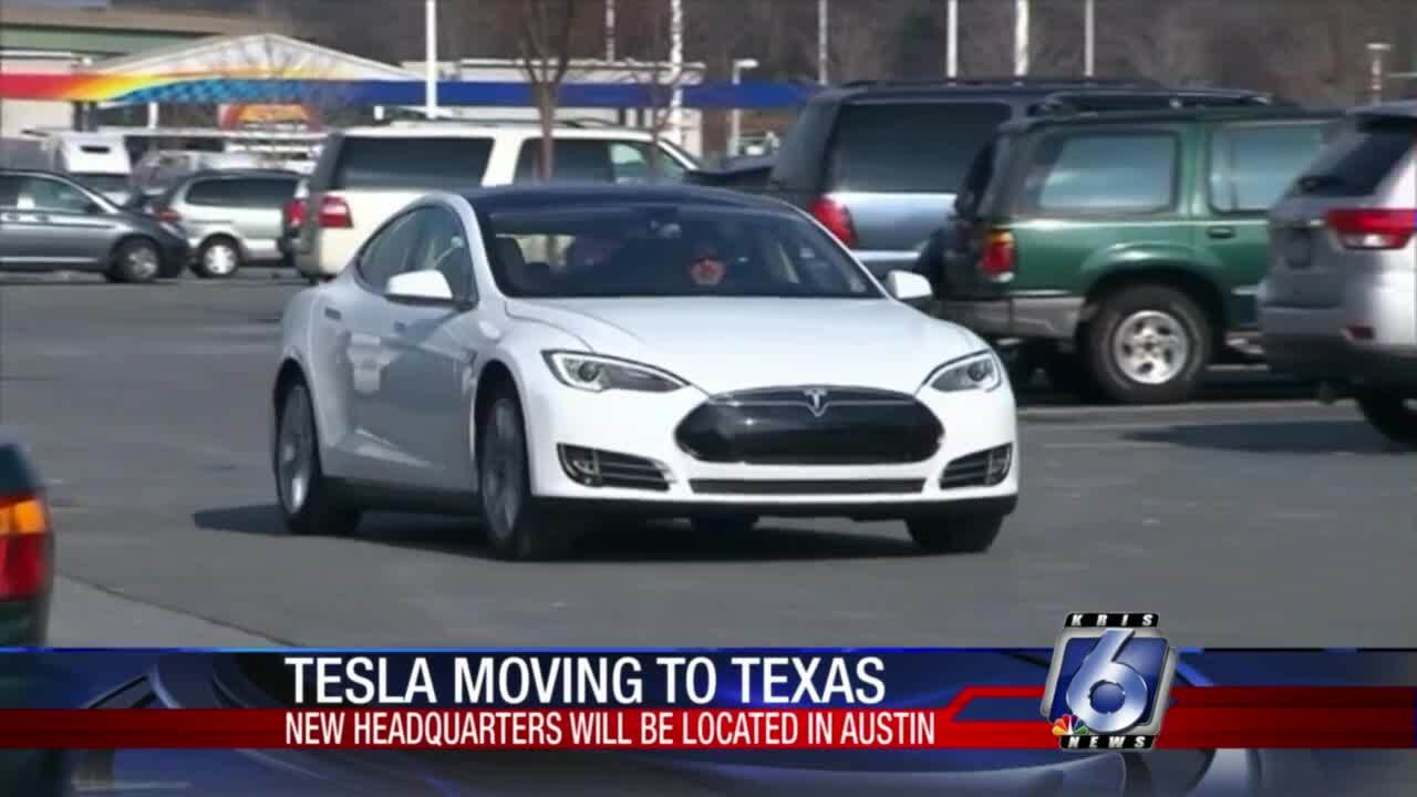 Tesla announces Austin as new headquarters