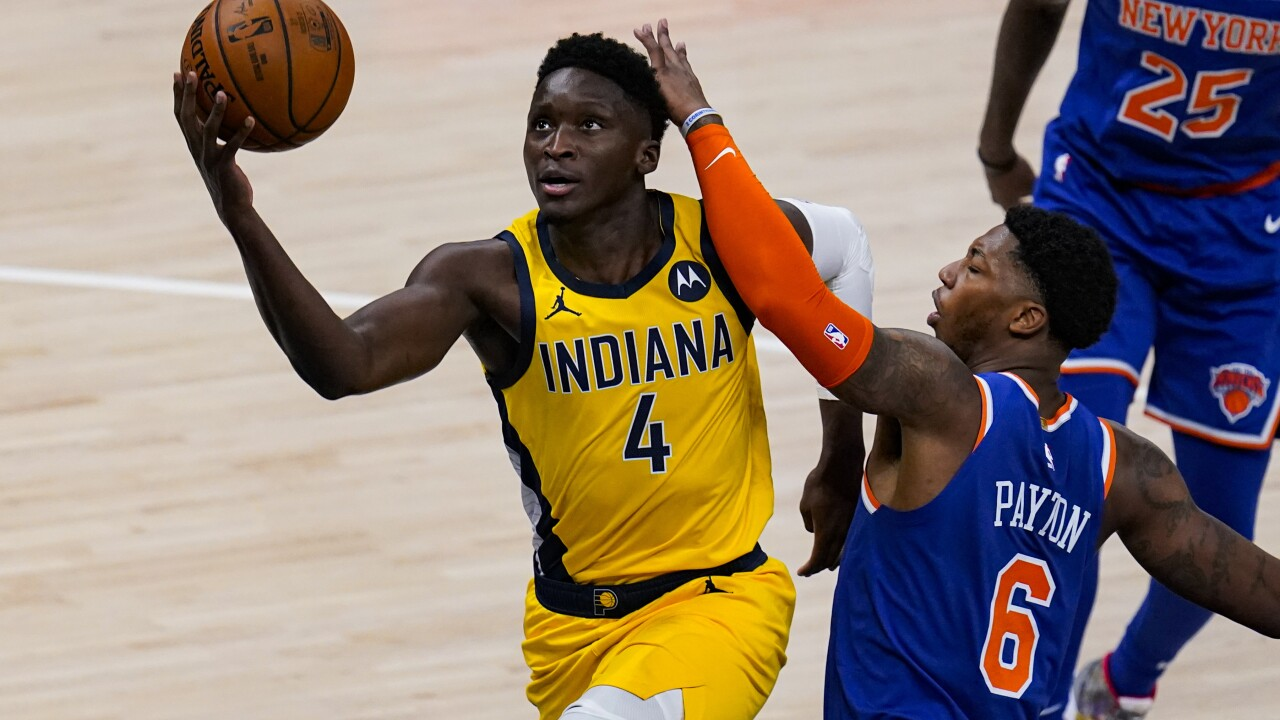Knicks Pacers Basketball