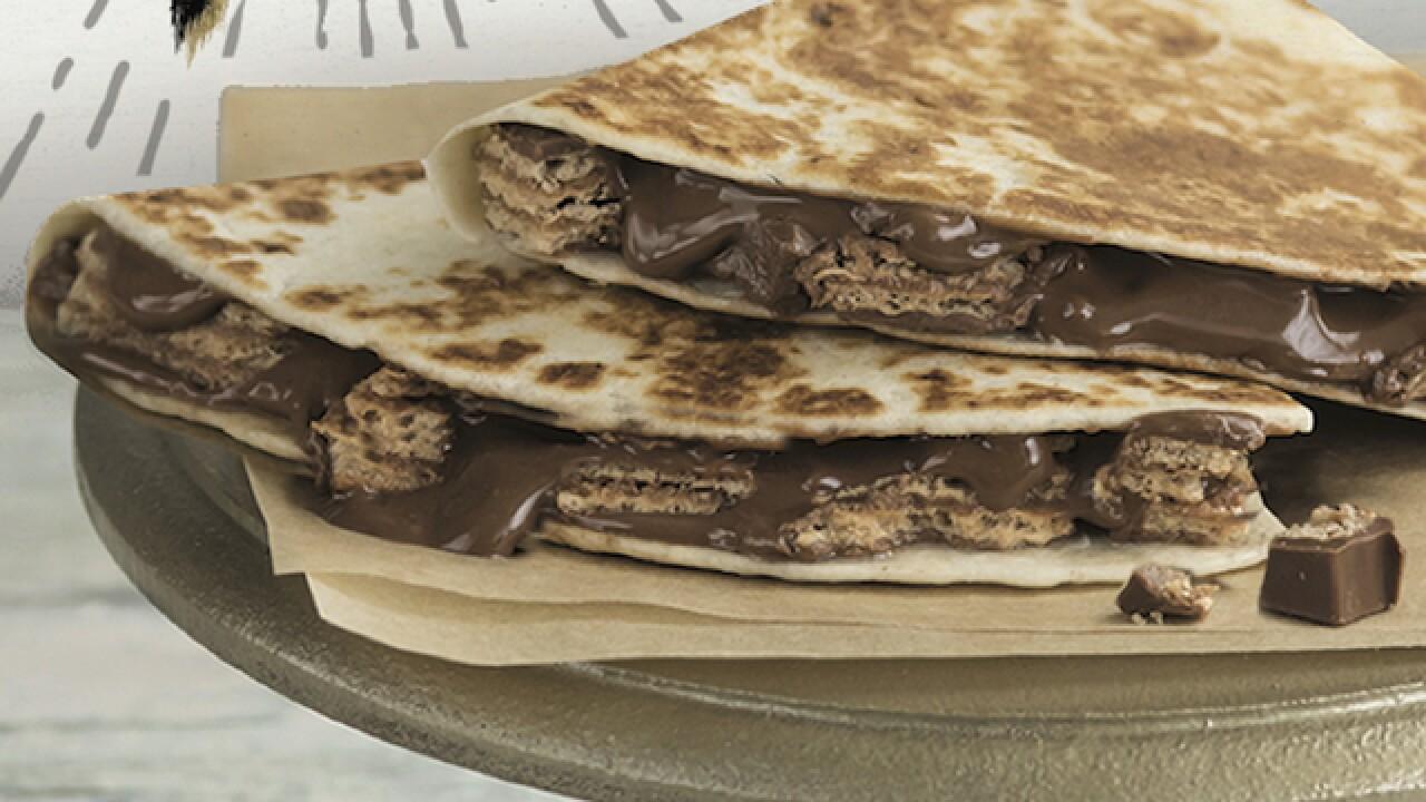 Taco Bell testing chocolate quesadillas