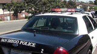 San Diego police car