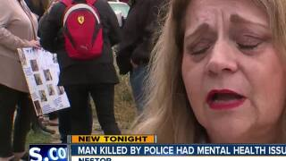 Man killed by police had mental health issues
