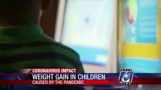 Kids are gaining weight during pandemic