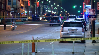Two shot, one killed at 12th & Grand