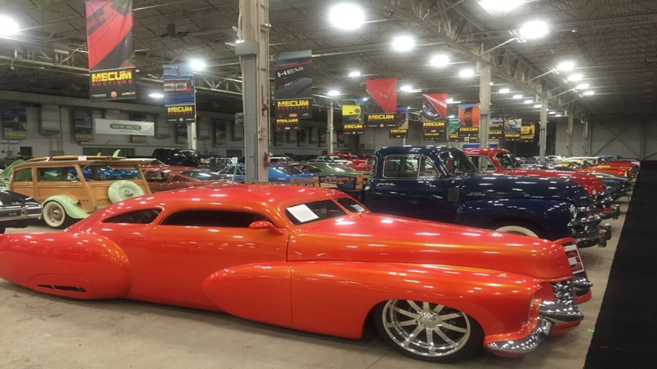 PHOTOS: Beautiful collector cars at fairgrounds