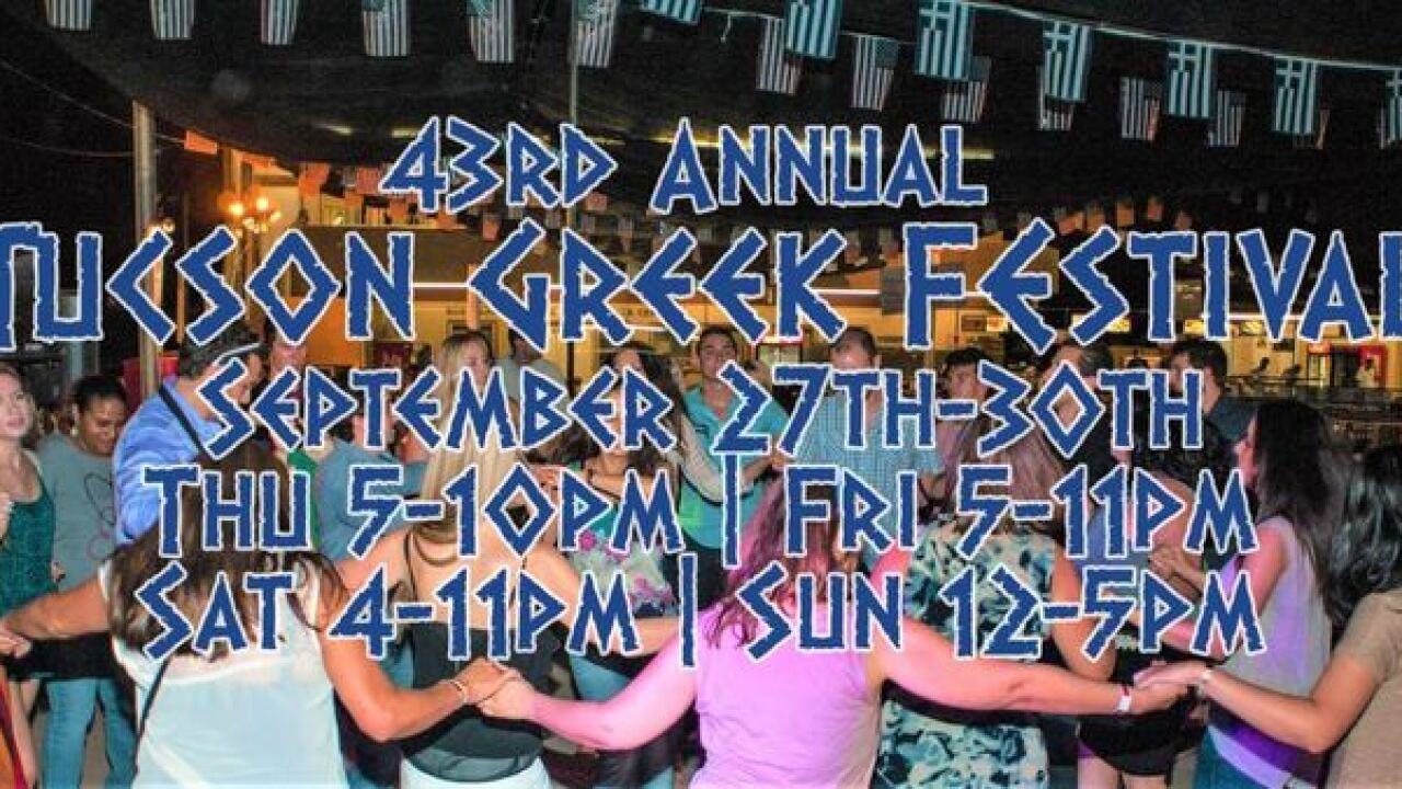 Greek Festival opens Thursday