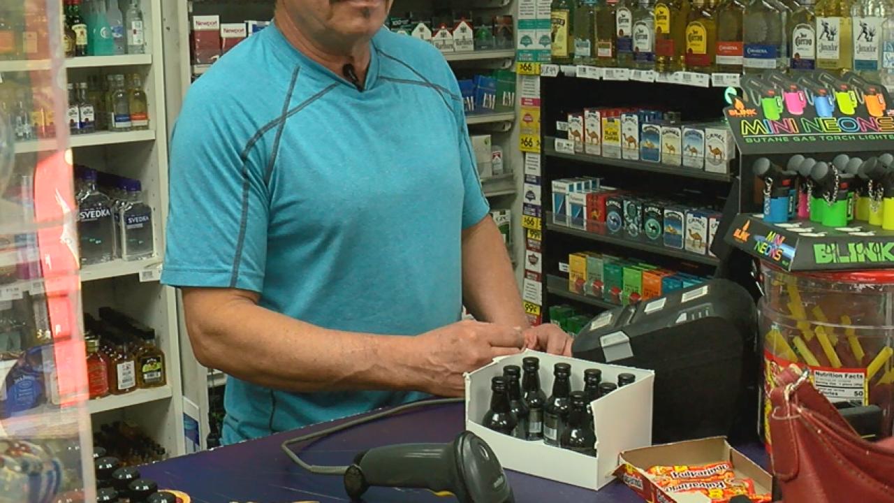 Raul Aldrete , owner of Liquor Depot in Englewood.