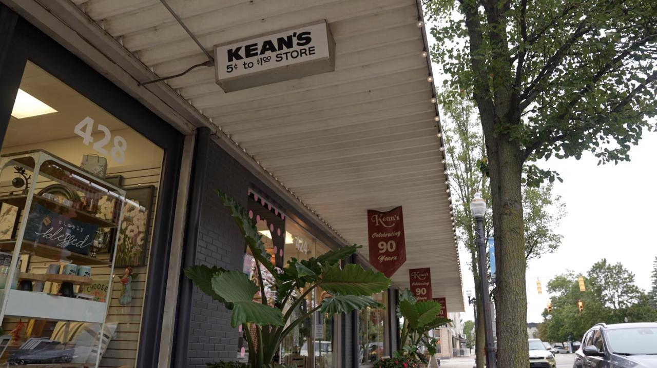 Kean's Store Company in Mason