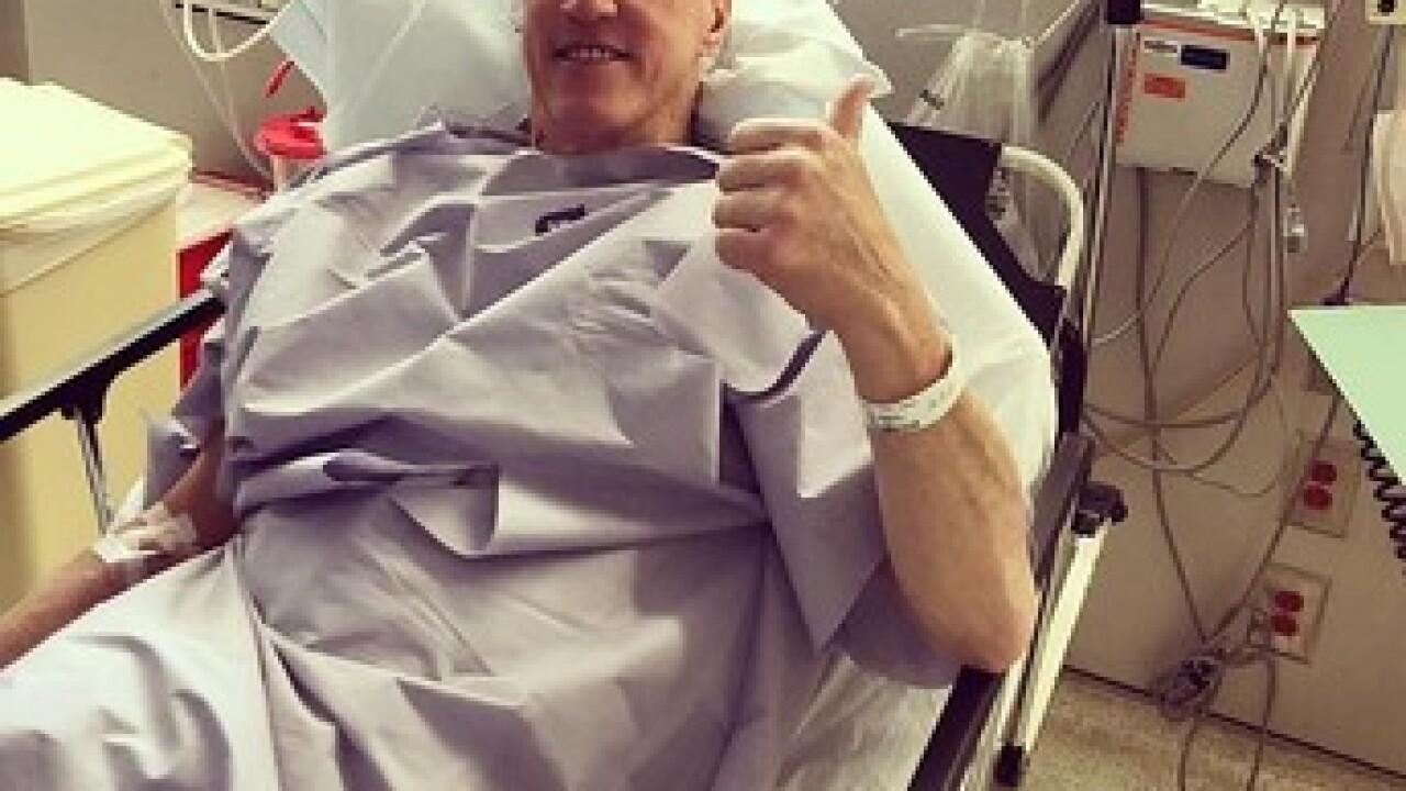 Bills HOF QB prepares for cancer surgery