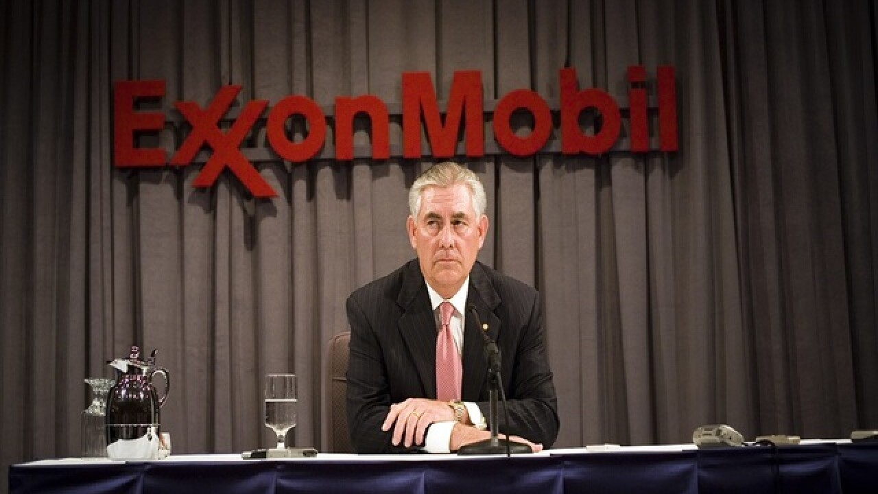 Trump to tap ExxonMobil CEO Tillerson for secretary of state, sources say