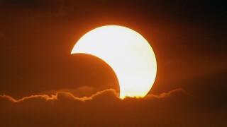 Philippines Solar Eclipse