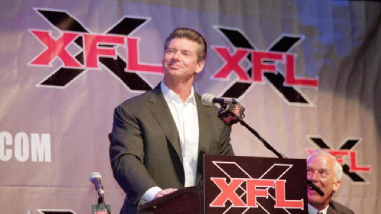 McMahon files for five new XFL trademarks, report says