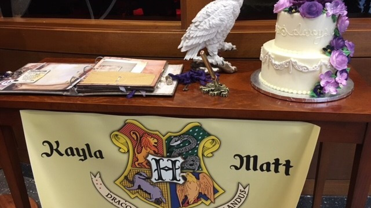 LOOK: Patient has Harry Potter-themed wedding