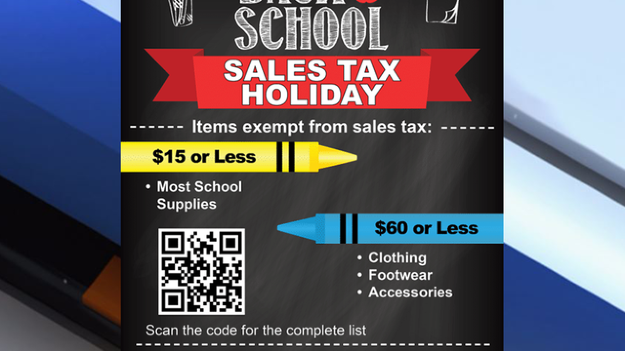 Florida Back-to-School Tax-Free Weekend info