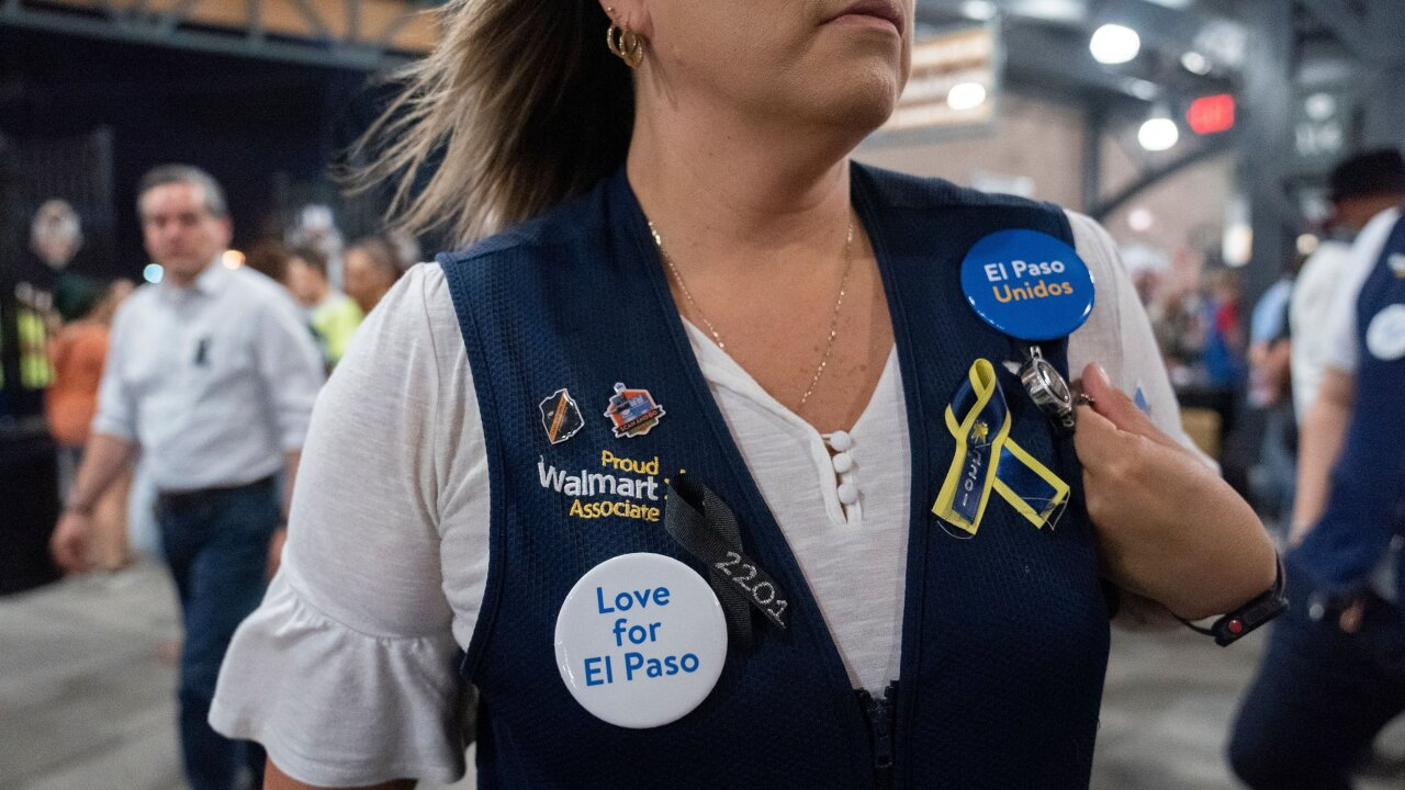 As El Paso Walmart reopens, residents find healing after the horror