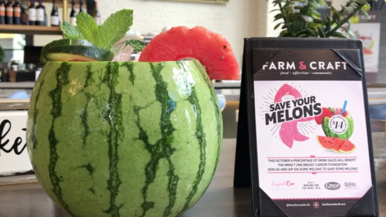 DRINK OUT OF A WATERMELON at Farm & Craft!