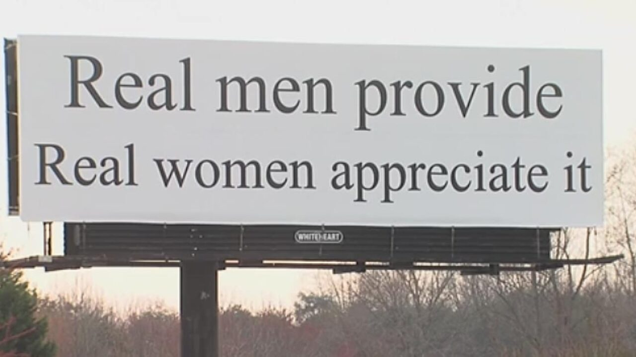 Is this sign sexist? Debate breaks out over North Carolina billboard