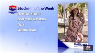 Students of the Week: Heidi Araiza and Brock Hill of Greybull High School