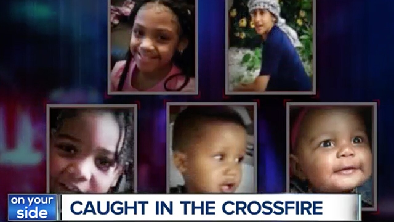 These are the innocent children caught in the crossfire of Cleveland violence