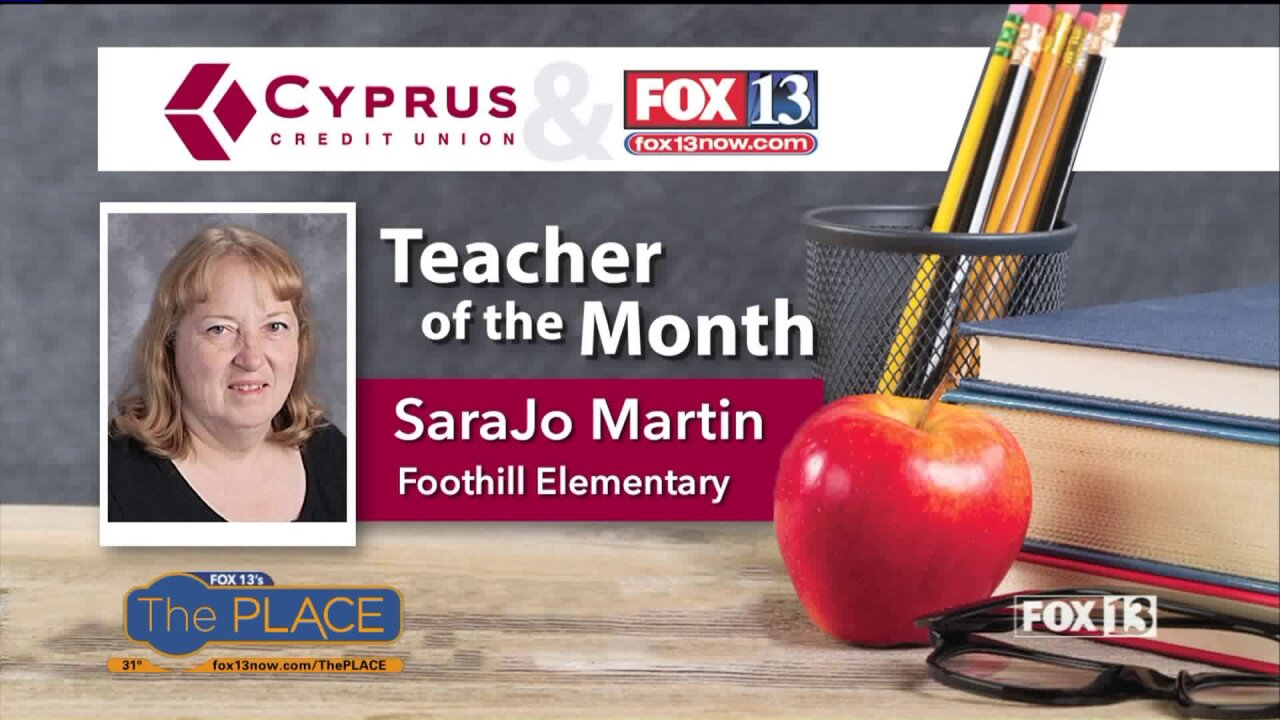 Our Teacher of the Month has been inspiring students for 30+years