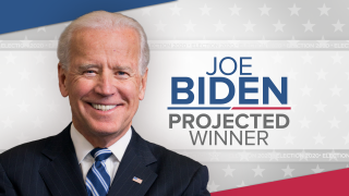Joe Biden projected winner