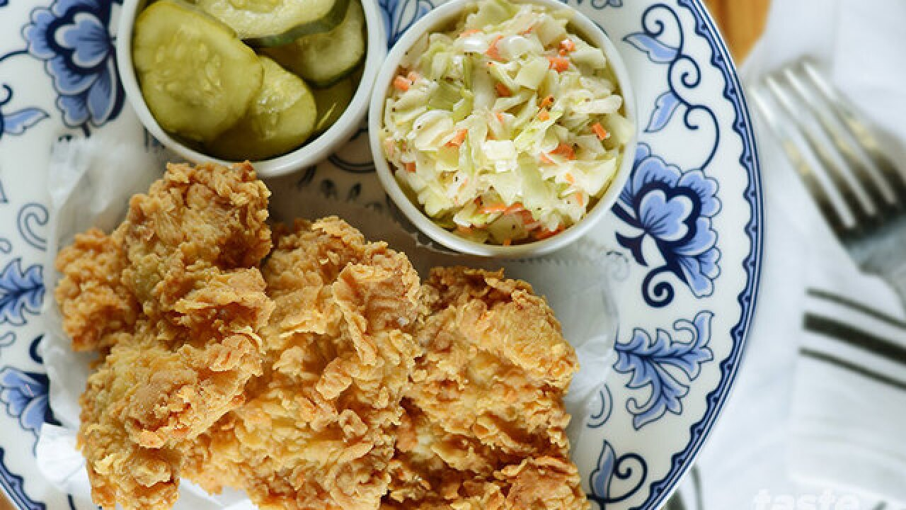 All-you-can-eat fried chicken costs $14 for National Fried Chicken Day
